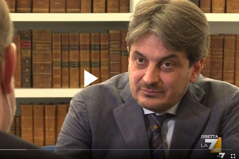 paolo balossi intervista vaccini la 7 piazza pulita